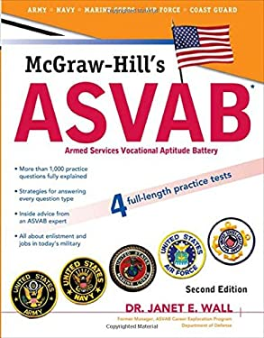 McGraw-Hill's ASVAB: Armed Services Vocational Aptitude Battery 9780071626613
