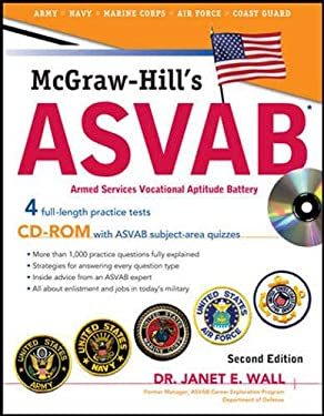 McGraw-Hill's ASVAB: Armed Services Vocational Aptitude Battery [With CDROM] 9780071626651