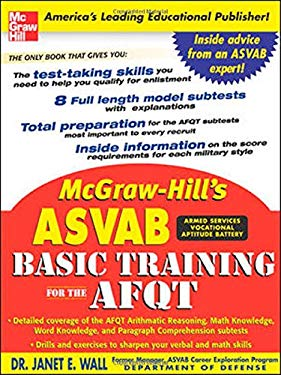 McGraw-Hill's ASVAB Basic Training for the AFQT 9780071462785