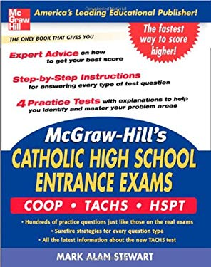McGraw-Hill's Catholic High School Entrance Exams: COOP-Tachs-HSPT 9780071452892