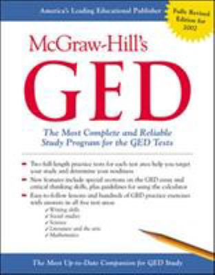 McGraw-Hill's GED: The Most Complete and Reliable Study Program for the GED Tests 9780071381796