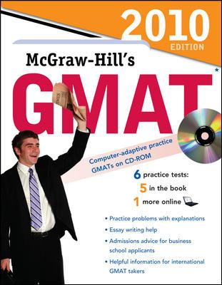 McGraw-Hill's GMAT: Graduate Management Admission Test [With CDROM] 9780071624169