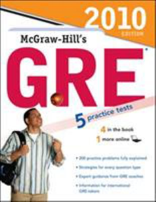 McGraw-Hill's GRE: Graduate Record Examination General Test 9780071624268