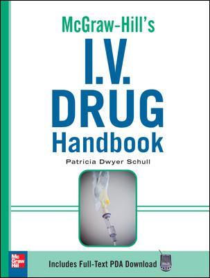 McGraw-Hill's I.V. Drug Handbook 9780071548632