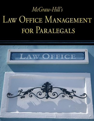 McGraw-Hill's Law Office Management for Paralegals 9780073376943