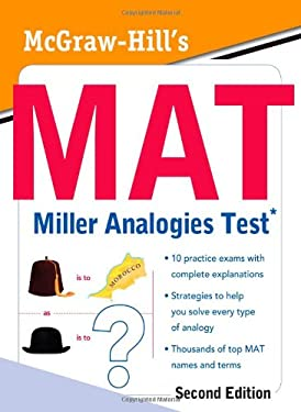 McGraw-Hill's MAT Miller Analogies Test 9780071702317