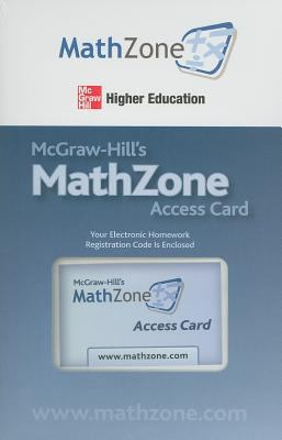 McGraw-Hill's MathZone Access Card 9780073384160