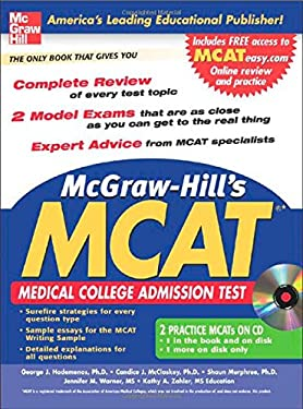 McGraw-Hill's New MCAT: Medical College Admission Test [With CDROM] 9780071470766