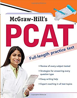 McGraw-Hill's PCAT: Pharmacy College Admission Test 9780071600453