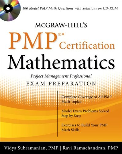 McGraw-Hill's PMP Certification Mathematics: Project Management Professional Exam Preparation [With CDROM] 9780071633055