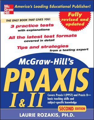 McGraw-Hill's Praxis I & II 9780071488471