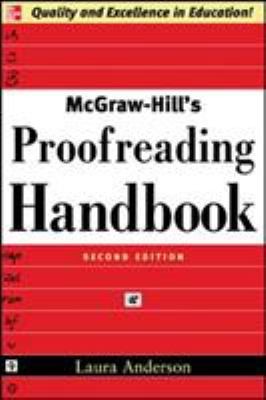 McGraw-Hill's Proofreading Handbook 9780071457644