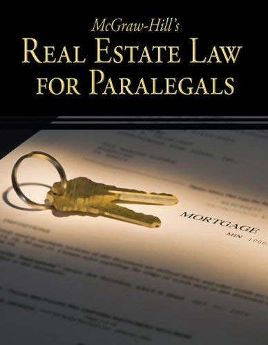 McGraw-Hill's Real Estate Law for Paralegals 9780073376950