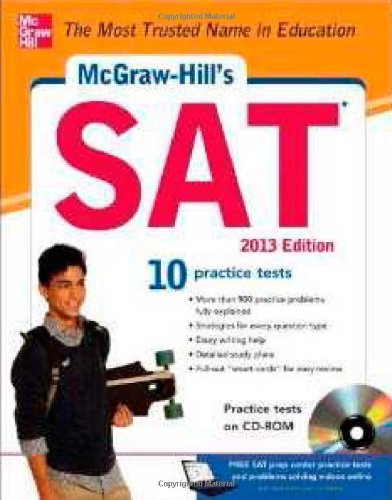 McGraw-Hill's SAT , 2013 Edition [With CDROM] 9780071795869