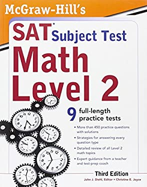 McGraw-Hill's SAT Subject Test Math Level 2 9780071763677