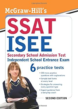 McGraw-Hill's SSAT/ISEE: High School Entrance Exams 9780071609166