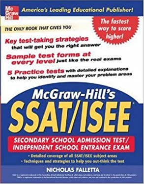 McGraw-Hill's SSAT/ISEE High School Entrance Exams 9780071453974