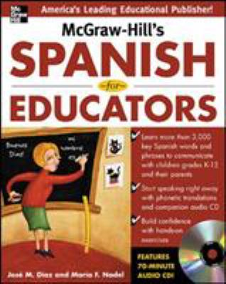 McGraw-Hill's Spanish for Educators [With CD] 9780071464918