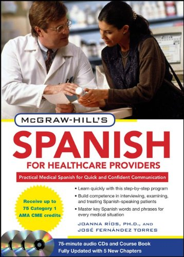 McGraw-Hill's Spanish for Healthcare Providers [With 3 CDs] 9780071664271