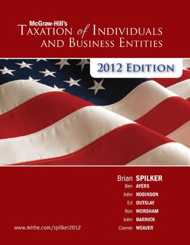 McGraw-Hill's Taxation of Individuals and Business Entities 9780078111068