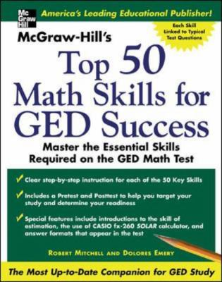 McGraw -Hill's Top 50 Math Skills for GED Success 9780071445221