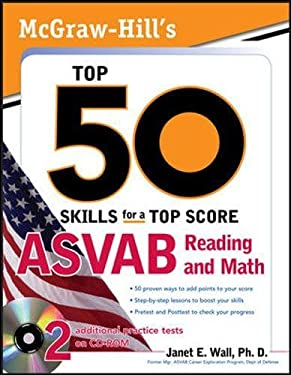 McGraw-Hill's Top 50 Skills for a Top Score: ASVAB Reading and Math [With CDROM] 9780071718011