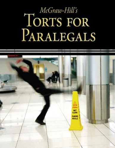 McGraw-Hill's Torts for Paralegals 9780073376936