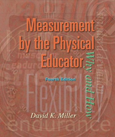 Measurement by the Physical Educator with Powerweb: Health and Human Performance 9780072489217