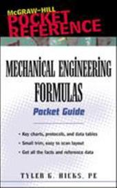 Mechanical Engineering Formulas: Pocket Guide