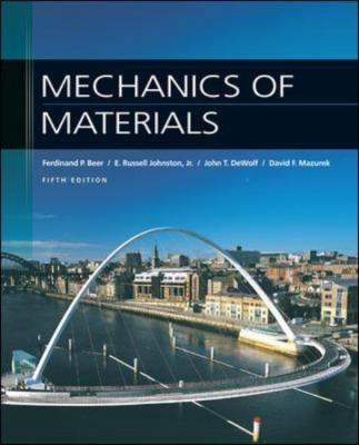 Mechanics of Materials 9780077221409
