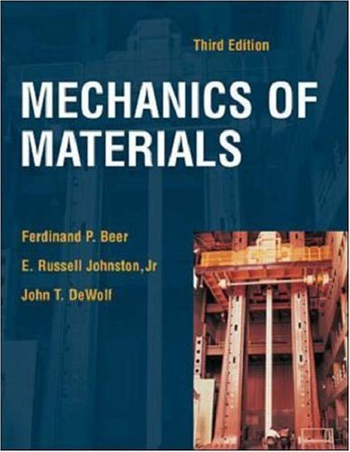 Mechanics of Materials with Tutorial CD [With Tutorial CD] 9780072486735