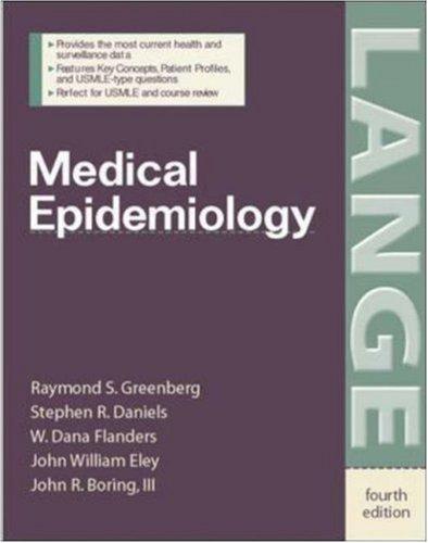 Medical Epidemiology 9780071416375