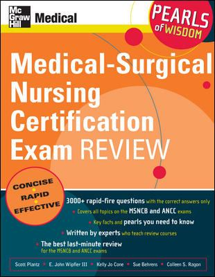 Medical-Surgical Nursing Certification Examination Review 9780071470407