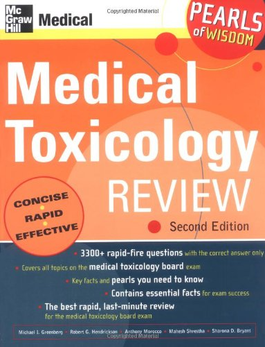 Medical Toxicology Review 9780071464536