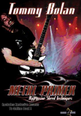 Metal Primer - Play Aggressive Lead Guitar Today DVD