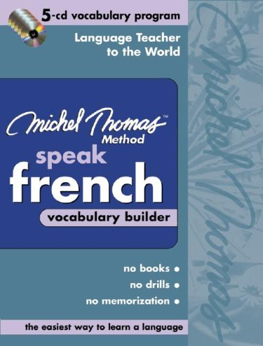 Michel Thomas Method Speak French Vocabulary Builder [With Zipper Case] 9780071488051
