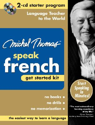 Michel Thomas Speak French Get Started Kit [With Zippered Travel Case] 9780071479776