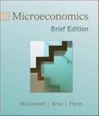 Microeconomics, Brief Edition 9780077230982