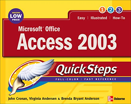 Microsoft Office Access 2003 9780072232295