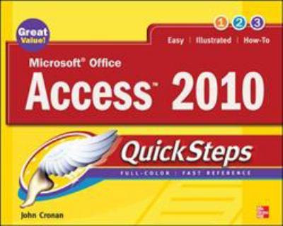 Microsoft Office Access 2010 QuickSteps 9780071634946