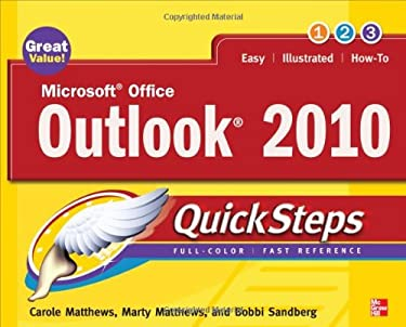 Microsoft Office Outlook 2010 QuickSteps 9780071634960