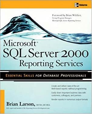 Microsoft SQL Server 2000 Reporting Services 9780072232165