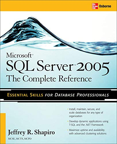 Microsoft SQL Server 2005: The Complete Reference 9780072261523