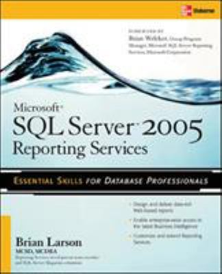 Microsoft SQL Server 2005 Reporting Services 9780072262391