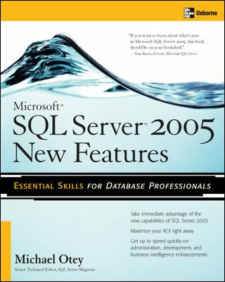 Microsoft SQL Server New Features 9780072227765