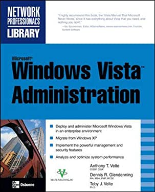 Microsoft Windows Vista Administration 9780071493031