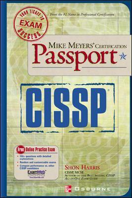 Mike Meyers' Cissp(r) Certification Passport 9780072225785