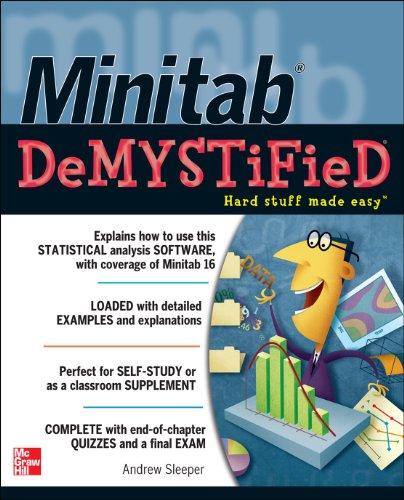 Minitab Demystified 9780071762298