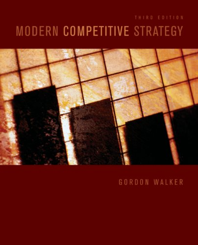 Modern Competitive Strategy 9780073381381