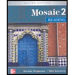Mosaic 2 Reading Student Book: Silver Edition 9780073258492